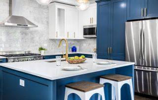 Blue Cabinet color