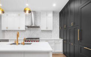 Luxurious,,Modern, Golden , Kitchen