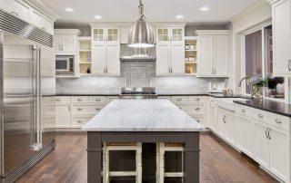 Kitchen,Interior,In,New,Luxury,Home