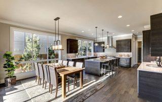 Open Floor Plan Home