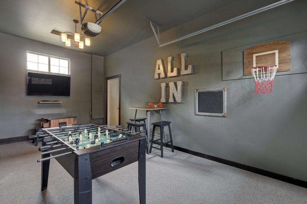 Game Room Garage Conversion