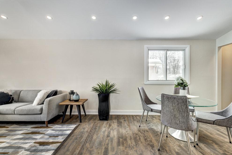 Living Room Garage Conversion