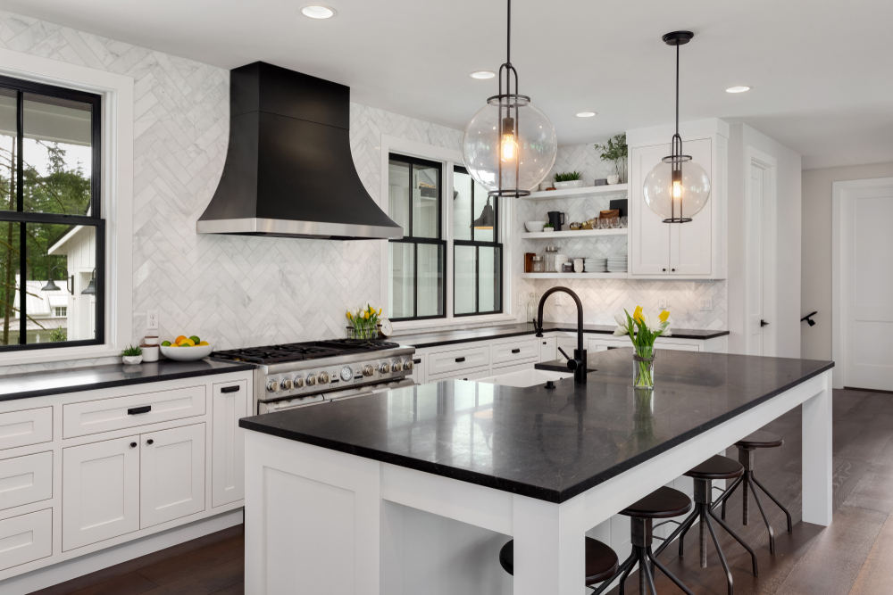 Elegant modern kitchen (Does a Kitchen Renovation Increase Home Value )